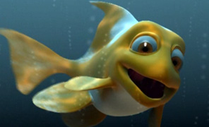 Lightwave Tutorial Animation and Rigging - Cartoon Fish Volume 2 - Rigging and Posing