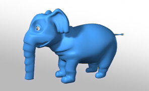 Lightwave Tutorial Free Tutorials - Dr Seuss Style Cartoon Elephant