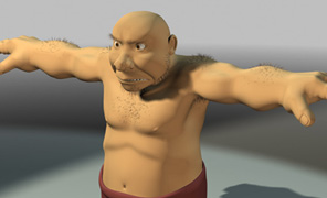 Lightwave Tutorial Animation and Rigging - Caveman Volume 3 - Rigging, Puppet Controls and More