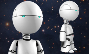 Lightwave Tutorial Modeling and Projects - Character Study - Marvin Paranoid Android